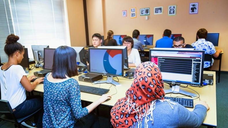 Embassy English computer facilities