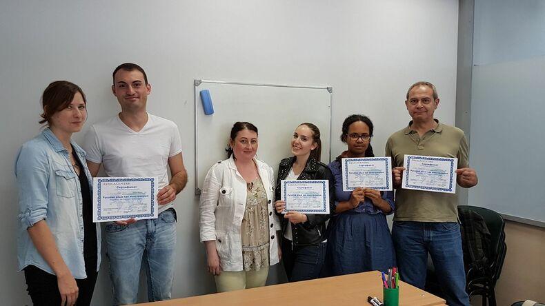 Educacentre Language school certificates