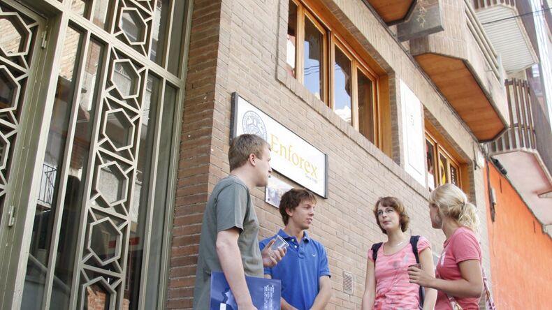Enforex Granada school building