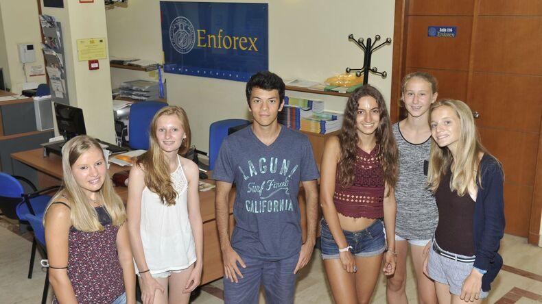 Enforex students in Valencia