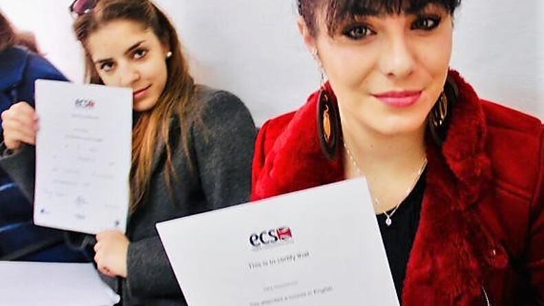 English Communication School students.