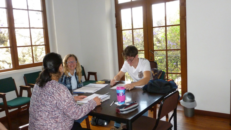 Learning at Estudio Sampere