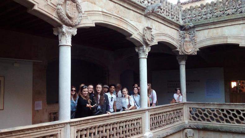 Studying in Salamanca