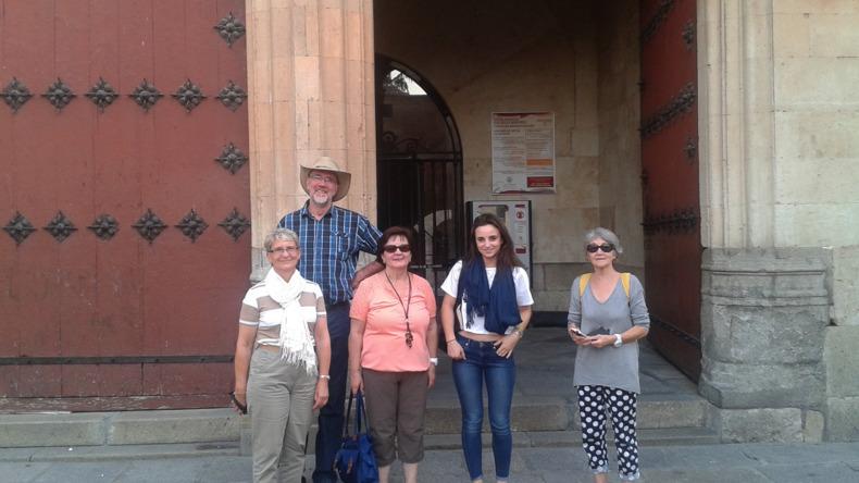 Students in Salamanca