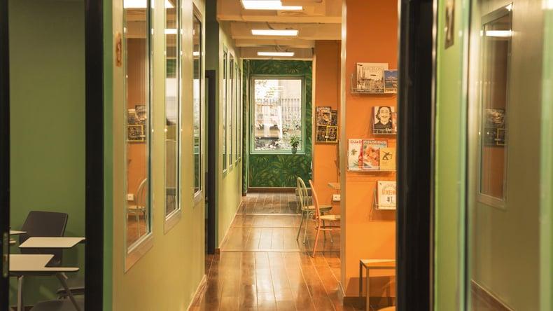 Expanish hallway