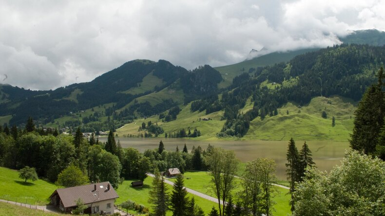 Schwarzsee scenery