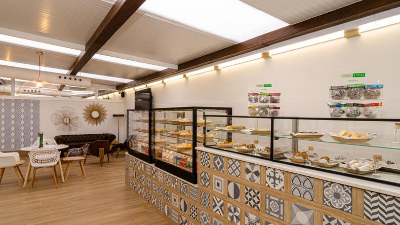 Hispania, escuela de español cafeteria