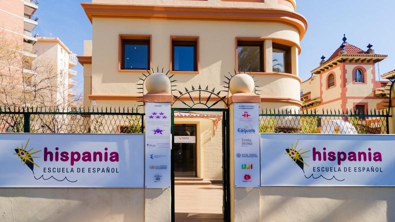 Hispania, escuela de español building