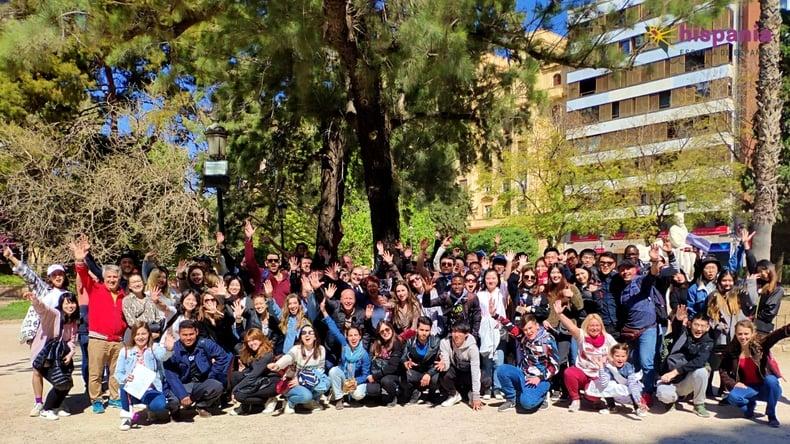 Students in Valencia
