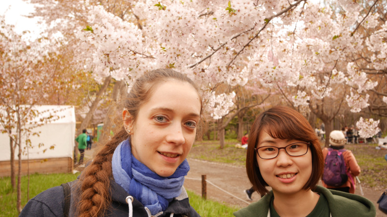 Students in Sapporo