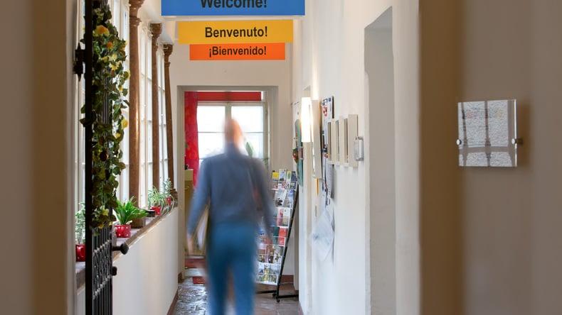 Inlingua Salzburg school interior