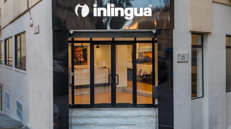Inlingua School entrance