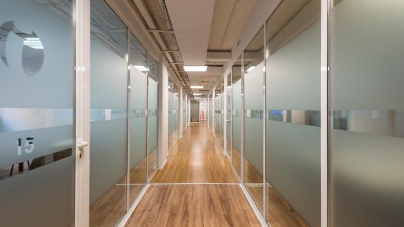 Inlingua School corridor