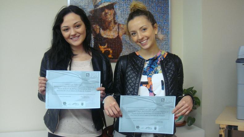 Instituto Hispanico de Murcia certificates of completion
