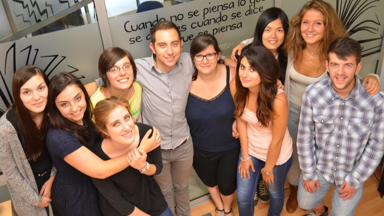 Making friends at Instituto Hispanico de Murcia