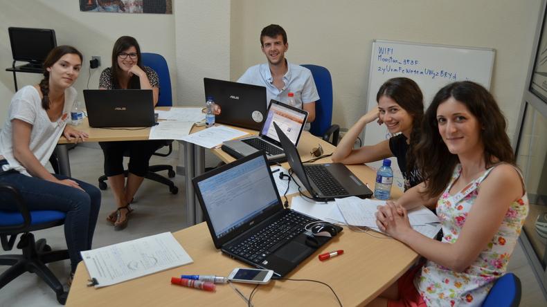 Learning at Instituto Hispanico de Murcia