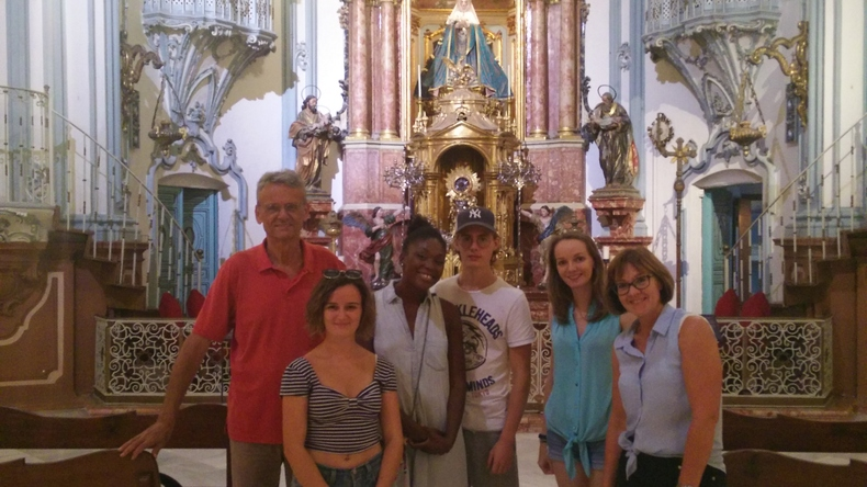 Seeing sites in Murcia