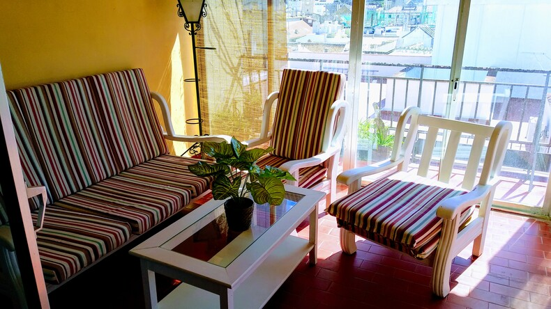 Accommodation lounge area