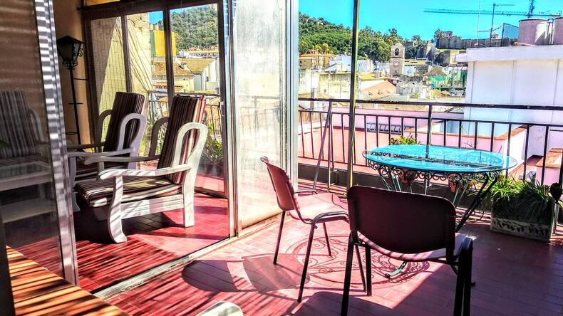 Accommodation terrace