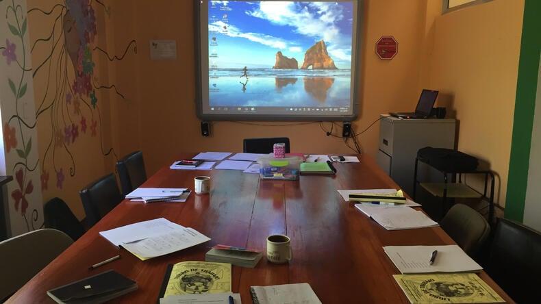 Intercultura Costa Rica Spanish Schools classroom