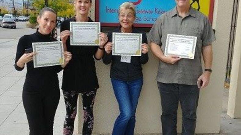 Certificates earned