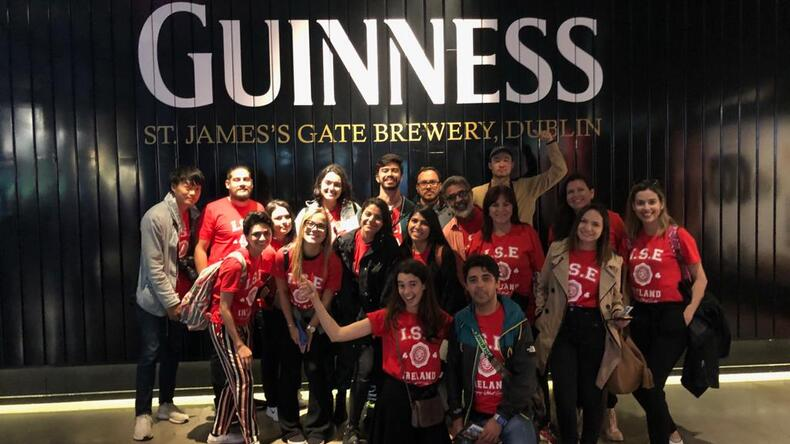 Excursion to Guinness Store.
