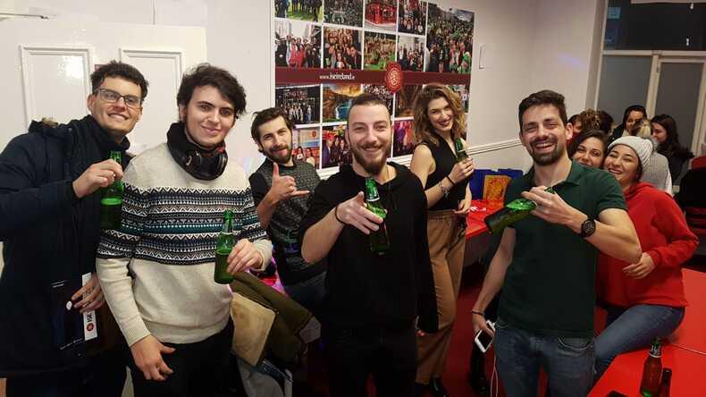 ISE Magazine party.
