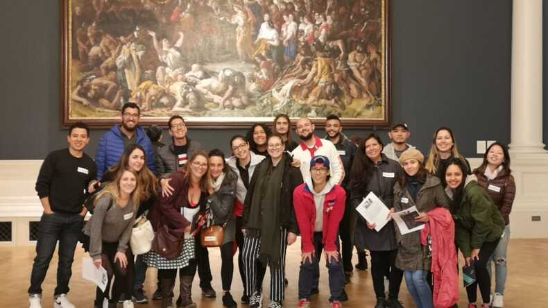 Excursion to the National Gallery.