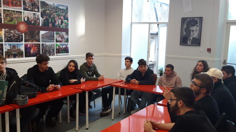 Job Club workshop.
