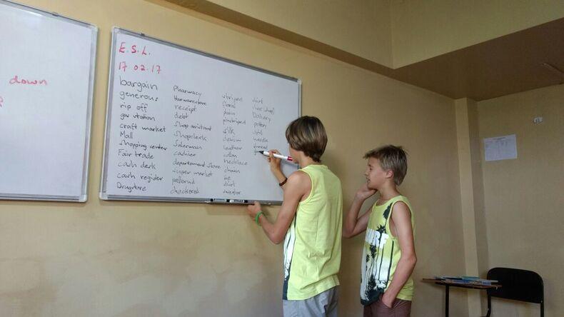 Learning at Jamaica Language School