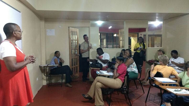 Studying at Jamaica Language School
