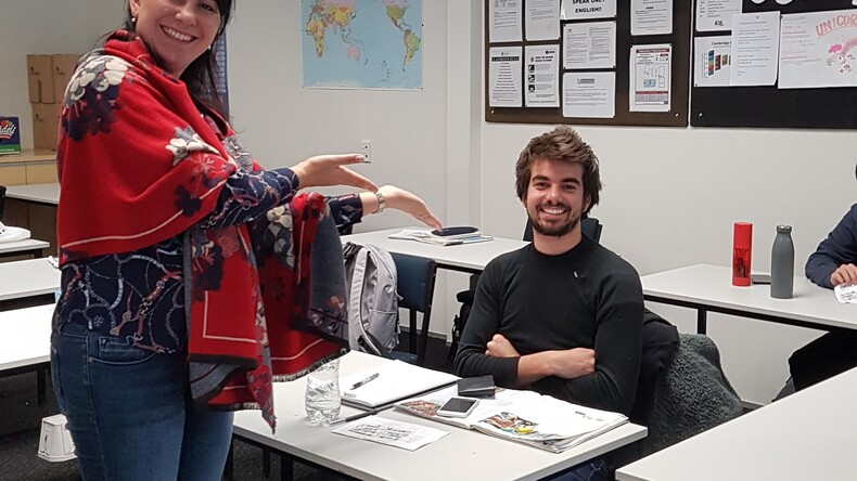 Language Schools New Zealand students