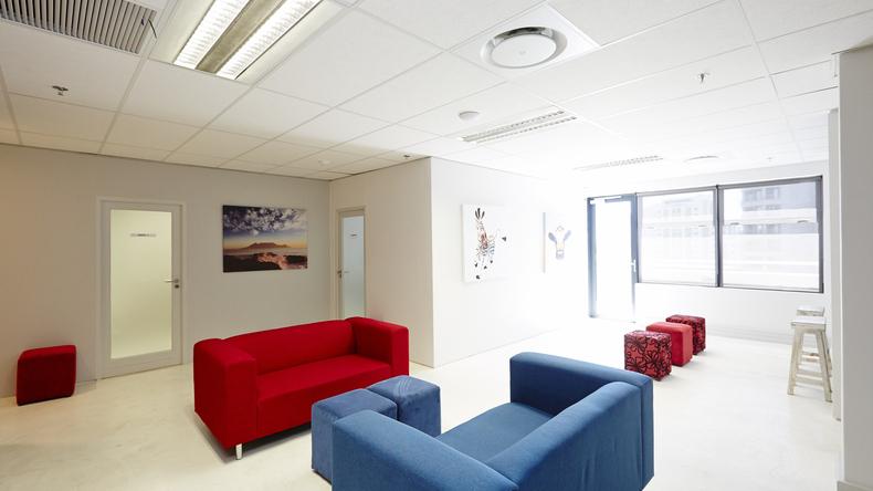 Language Teaching Centre student lounge