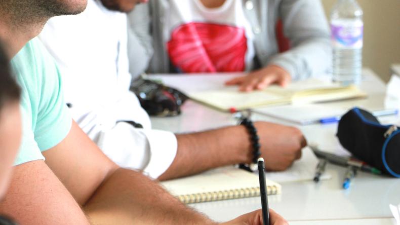 Meridian School of English class