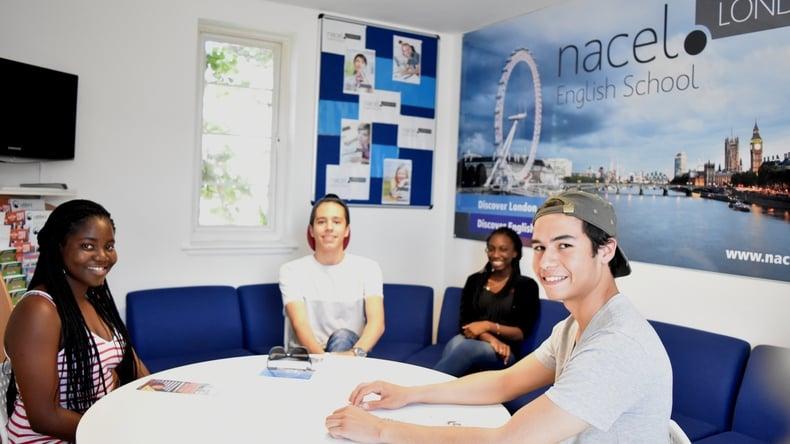 Nacel English School study group