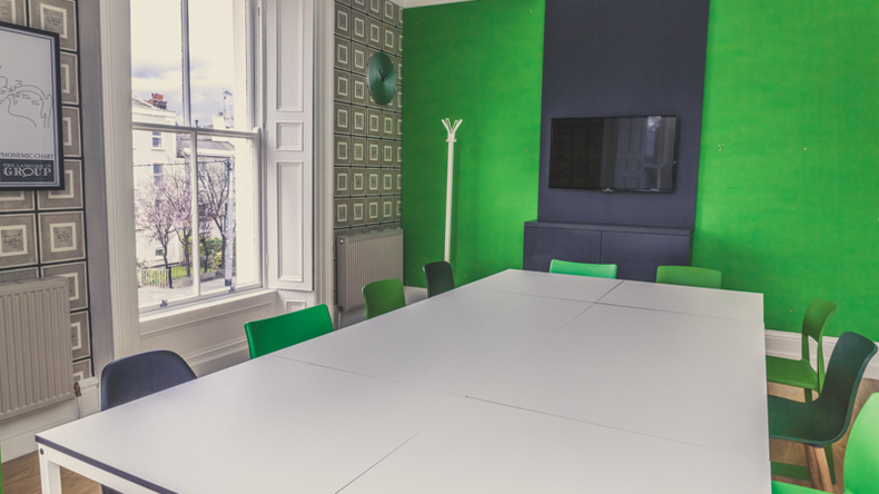 Classroom for group lessons