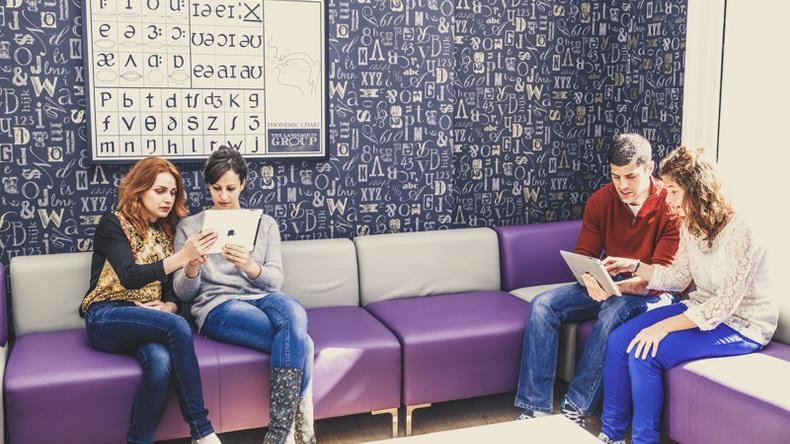 NCG student lounge