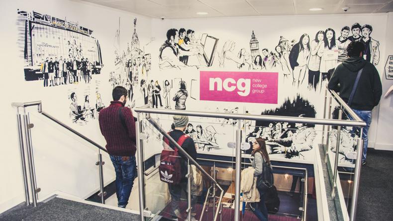 NCG stairway