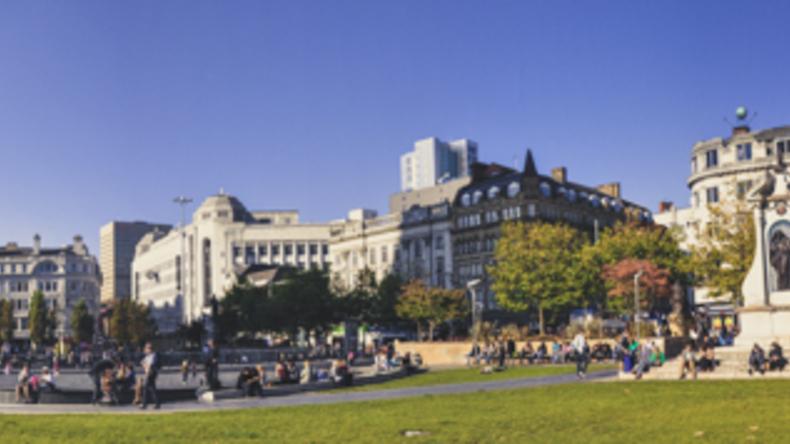 Enjoying Manchester