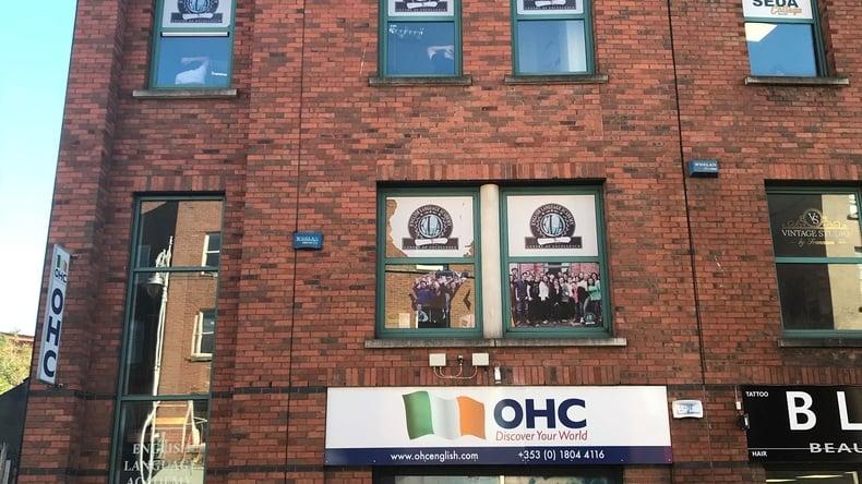 OHC English school building