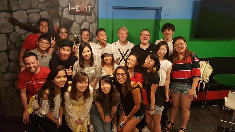 OHC English students