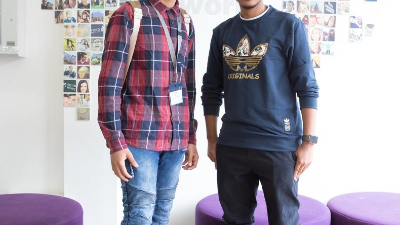 Oxford International Education students
