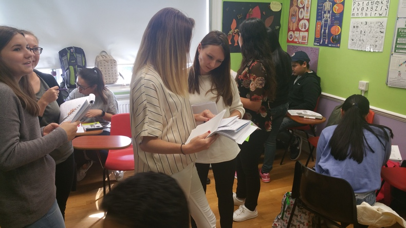 Activities at Purley Language College