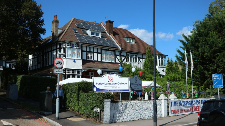 Purley Language College entrance