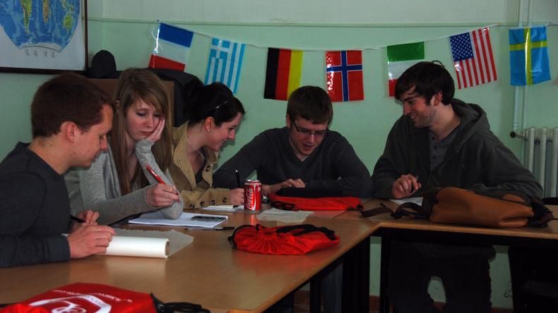 Students in Sorrento