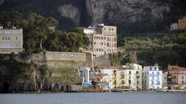 Buildings in Sorrento