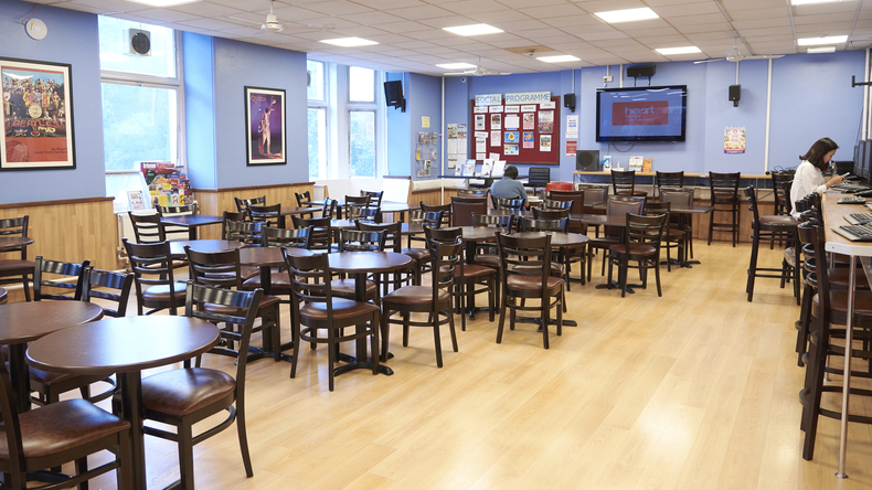 Cafeteria St Giles London