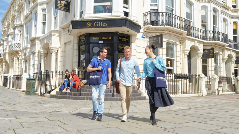 Students in Brighton