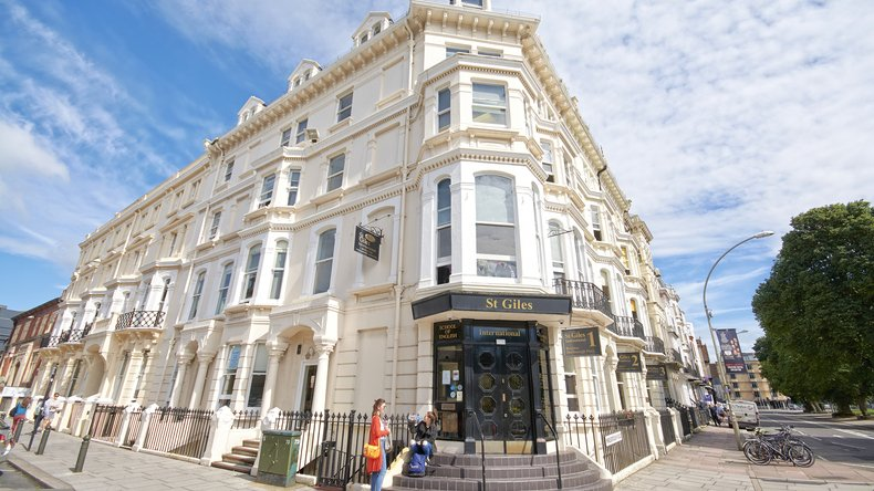 Beautiful School building in Brighton