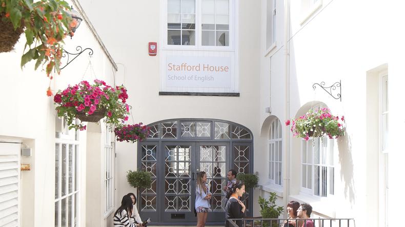 Stafford House International entrance
